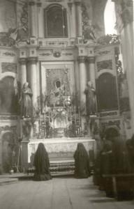Adoracja Najśw.Sakr.,lata 40.XXw., Archiwum ss. nazaretanek