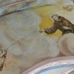 św. Franciszek - fresk po konserwacji