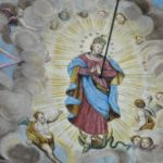 fresk Matki Boskiej Niepokalanej po konserwacji