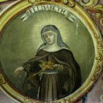 św. Elżbieta  - stan przed konserwacją