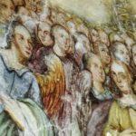 przed konserwacją - dziewiaty chór anielski, czyli Aniołowie Stróżowie