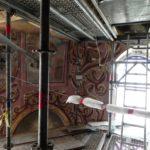 Rozpoczęto oczyszczanie fresków