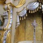 nadstawa tabernakulum przed konserwacją