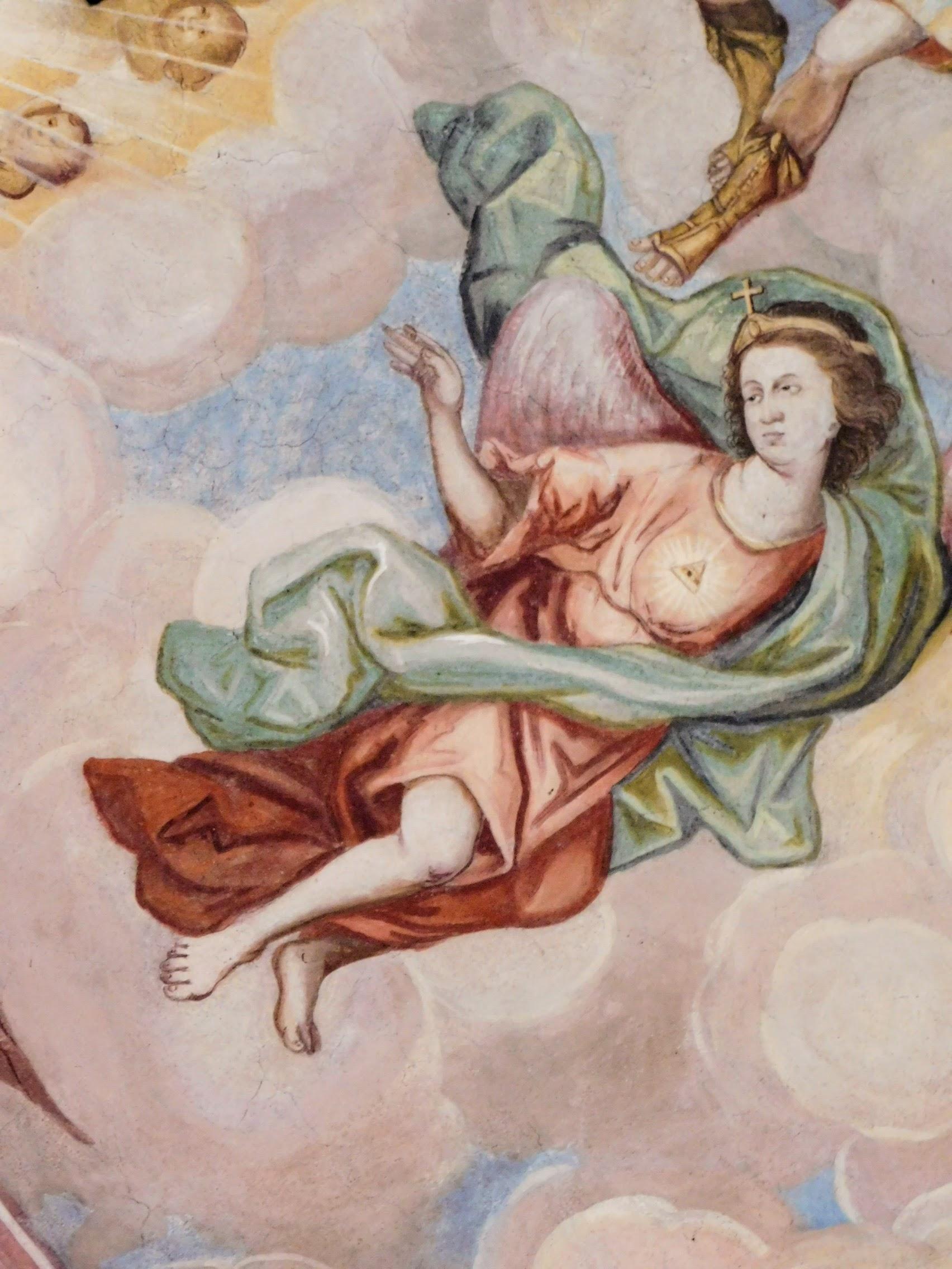 fresk po konserwacji