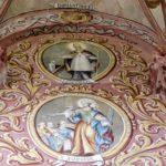 polichromie na ścianach po konserwacji