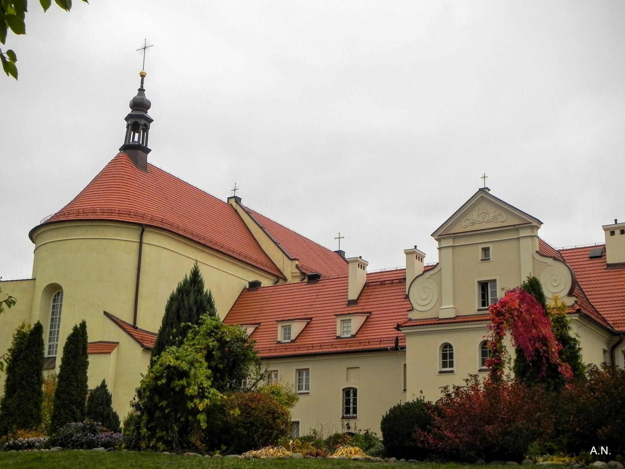 Klasztor po wykonaniu elewacji