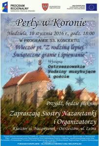 Zaproszenie na 53 Koncert Perły w koronie