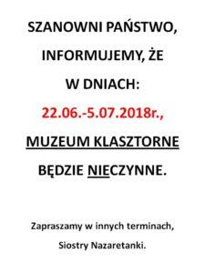 Inf. dot. Muzeum